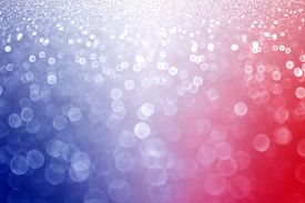 picture of glitter sparkle  - Abstract patriotic red white and blue glitter sparkle background - JPG