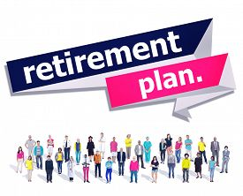 pic of retirement  - Retirement Plan Retirement Planning Pension Concept - JPG