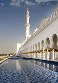 Sheikh Zayed Mosque Side View