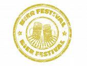 Bier Festival Stamp