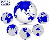 Постер, плакат: Earth globe
