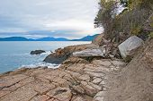 Costal Area of Anacortes, Washington