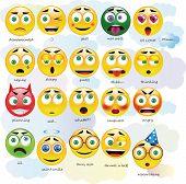Постер, плакат: Emoticons