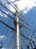Mast Of Cutty Sark