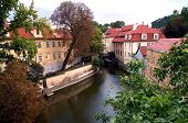 Small River In Prague