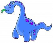 Cute diplodocus