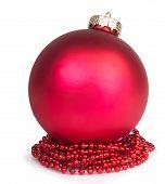 Christmas Ball With Beads