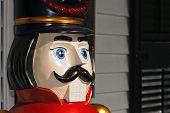 Vintage Wooden Toy Solder