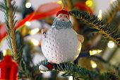 Golf Christmas Ornament