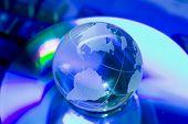 Glass World Globe