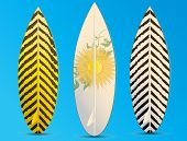 Surfboards Illustration