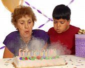 Birthday Smoke And Fire