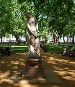 Statue In Berkeley Square, London