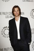 BEVERLY HILLS - MAR 13:  Jared Padalecki arriving at the Paleyfest 2011 event honoring Supernatural