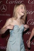 PALM SPRINGS - Jan 6:  Dakota Fanning attends the 20th Palm Springs Film Festival Gala on January 6,