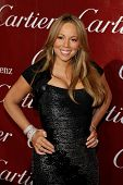 PALM SPRINGS, CA  - JAN 6:  Mariah Carey at the 2010 Palm Springs International Film Festival gala held at the Palm Springs Convention Center on January 6, 2010  in Palm Springs, California.