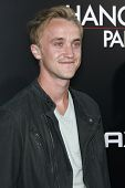 LOS ANGELES - MAY 19: Tom Felton at the premiere of 'The Hangover Part II' held at the Grauman's Chi