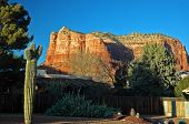 Sedona From Residential Area