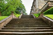Stairway to Nottingham castle