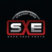 Straight Edge Drug Free Youth Community poster
