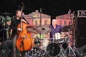 LVIL, UKRAINE - JUNE 3: John Scofield Jazz Quartet in concert during Alfa Jazz Festival on June 3, 2