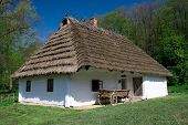 White Old Hut