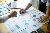 Business Businessman In Meeting Analyses poster