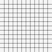 Tartan Tattersalls Plaid. Scottish Pattern In Black And White Cage. Scottish Cage. Traditional Scott poster