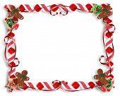 Christmas Treats Frame Background Template