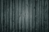 Old Wooden Background. Vintage Grey Texture With Vignetting. poster
