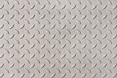 Detail of diamond plate steel