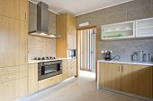picture of interior  - Beautiful and modern kitchen interior design in new home - JPG