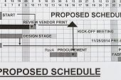 Proposed Schedule
