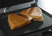 Sandwich On Griddle