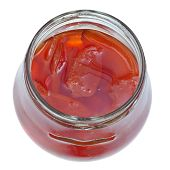 Sweet Quince Jam In Glass Jar