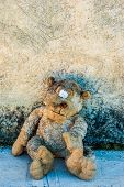 A Dirty And Old Teddy Bear