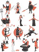 image of artemis  - Set of Greek  - JPG