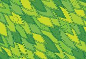 floral sewed leaf seamless pattern wallpaper background