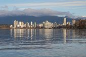 Tranquil English Bay, Vancouver Cityscape