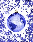 Christmas World Globe