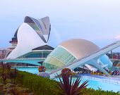 VALENCIA - NOVEMBER 17: Hemispheric and The Queen Sofia Palace of Arts.