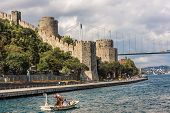 Rumelian Castle Also Known As Castle Of Europe Medieval Landmark In Turkey