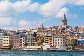 Golden Horn And The Historic Galata Area Attracts Tourists From All Over The World.