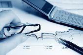 Stock Market Graphs Analysis.