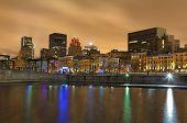Montreal Night Skyline