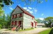 Log Farmhouse From Pennsylvania