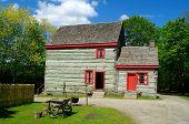 Pennsylvania Log Farmhouse