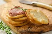 Pate And Crackers