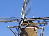 Windmill Cross With Stacked Sails