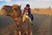 Camel Riding In Jaisalmer